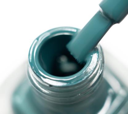 Лак для стемпинга Lesly Teal Blue зелено-синий